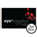 eye² oxyplus multifocal 3er Box Monatslinsen