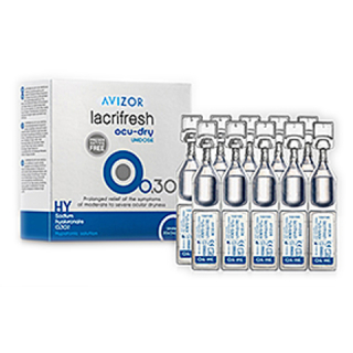 Avizor lacrifresh ocu-dry 0.3% Unidose 20 x 0.4 ml