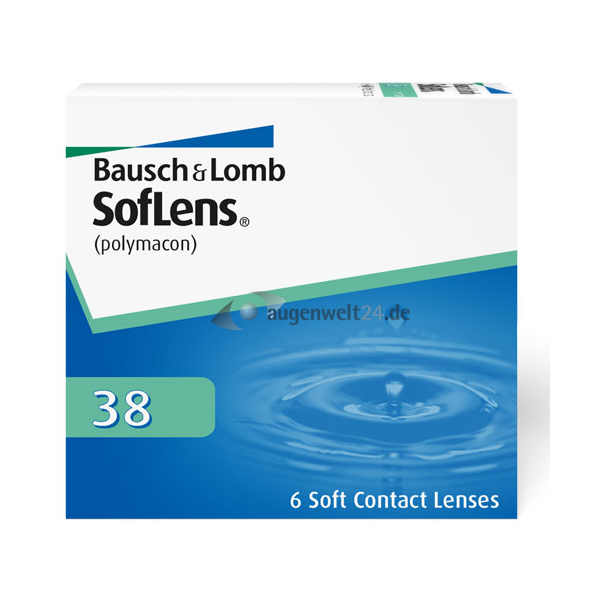 soflens 38 6er box monatslinsen bausch lomb augenwelt24. Black Bedroom Furniture Sets. Home Design Ideas