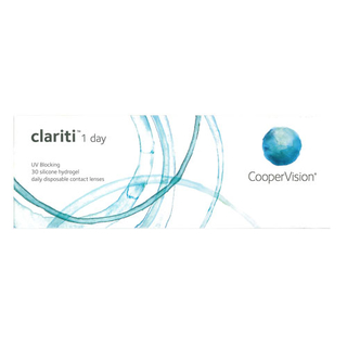 Clariti 1day Tageslinsen 30er Box (CooperVision) +3.50
