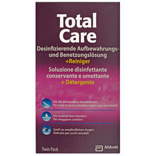 blink Total Care Twin Pack Aufbewahrung formstabil