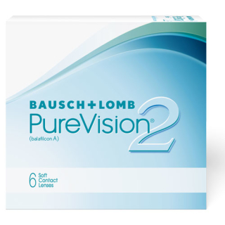 PureVision 2 HD 6er Box (Bausch & Lomb) +0,25