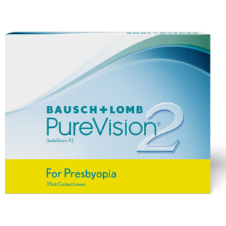 PureVision 2 for Presbyopia 3er Box (Bausch & Lomb) -7,75 LOW