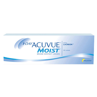 1-Day Acuvue Moist 30er Box (Johnson & Johnson) 9,00 mm +0,50