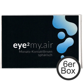 eye² MY.AIR 6er Box Kontaktlinsen