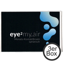 eye² MY.AIR 3er Box Kontaktlinsen