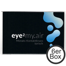 eye² MY.AIR torisch 6er Box Kontaktlinsen