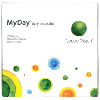 MyDay daily disposable 90er Box (Cooper Vision) -8,00