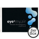 eye² MY.AIR multifocal 6er Box Monatslinsen