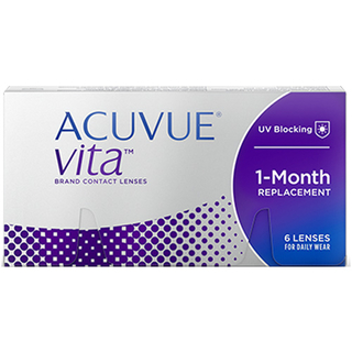 Acuvue VITA 6er Box (Johnson & Johnson) 8,80 mm +8,00