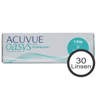 ACUVUE oasys 1-Day HydraLuxe 30er Box (Johnson & Johnson)