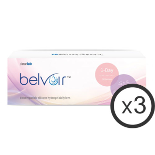 belvoir soft 1-day 90er Box Tageslinsen (ClearLab)