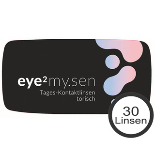 eye² MY.SEN Tages-Kontaktlinsen torisch 30er Box