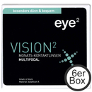 eye² Vision²  multifocal 6er Box Monats-Kontaktlinsen