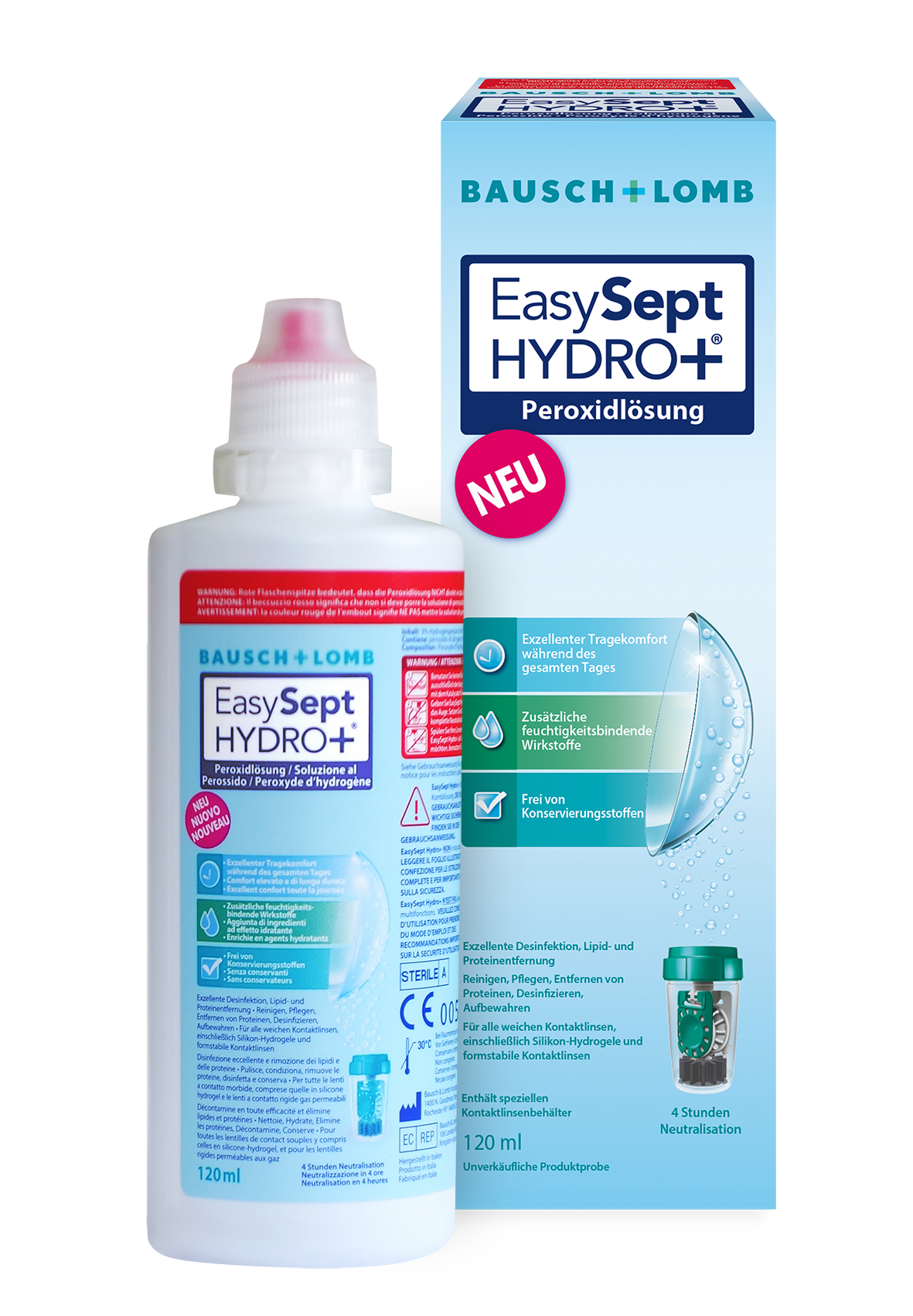EasySept Hydro Plus Bausch Lomb