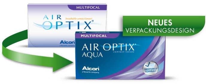 Air Optix MULTIFOCAL NEW PACKAGE